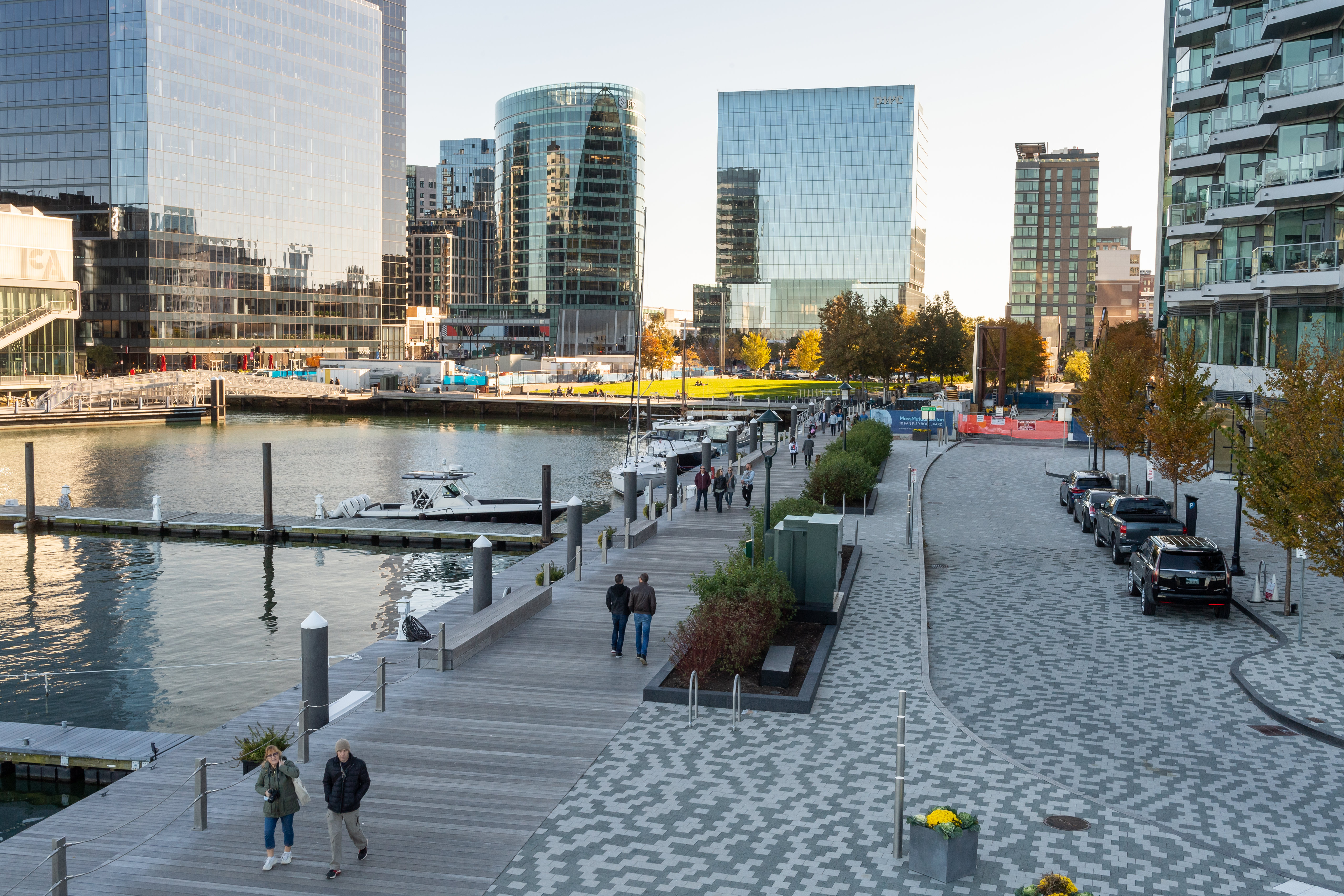 Fan Pier in the Seaport District